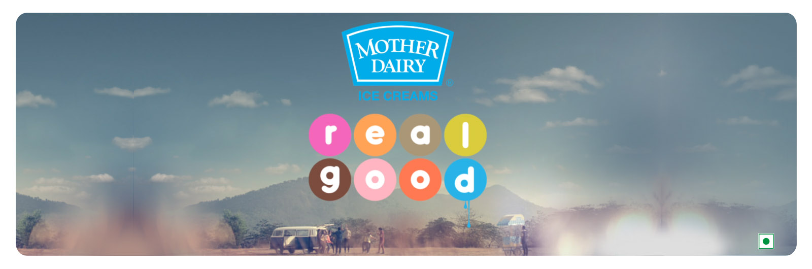 Mother Dairy Ice Cream - Life is Real Good