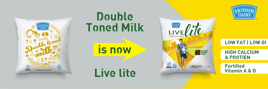 "Mother Dairy ""Live Lite"""